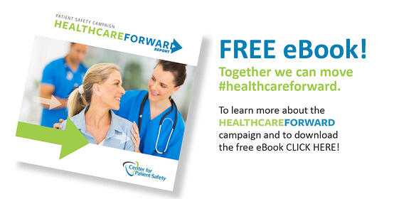Healthcare Forward and eBook to promote patient and provider safety